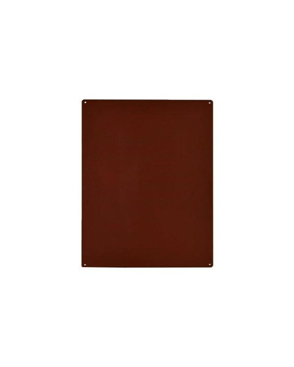Magnettafel aufhängbar in Rostfarbe 38x56cm Kalamitica