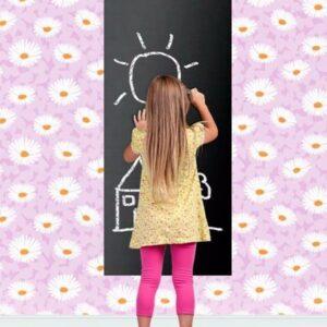 Tafelfolie Kreide selbstklebend zum Beschriften von Familei und Kinder
