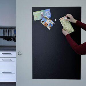 Wandtafelfolie selbstklebend Einkaufsliste magnetisch mit Kreide beschriftbar