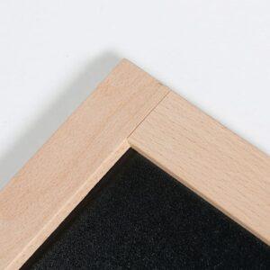 Holzrahmen Buche magnetische Kreidetafel zum Schreiben